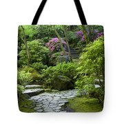 Garden Path Tote Bag by Brian Jannsen