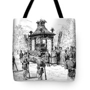 Garfield Funeral, 1881 Tote Bag