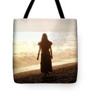 Girl On Beach Tote Bag by Joana Kruse