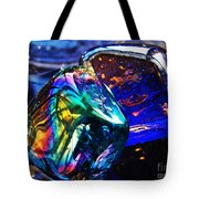 Glass Abstract 682 Tote Bag
