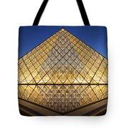 Glass Pyramid Tote Bag