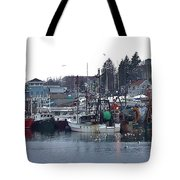 Gloucester Fishing Boats Tote Bag