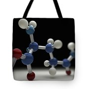 Glutamine Molecule Tote Bag