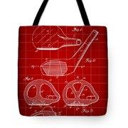 Golf Club Patent 1926 - Red Tote Bag