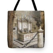Granada Cathedral Doors And Other Details Tote Bag