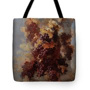 Grapes And Architecture Tote Bag