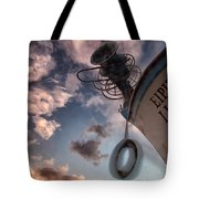 Greek Fishing Boat Tote Bag