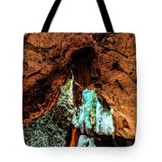 Green Grotto Caves Tote Bag