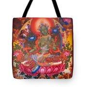 Green Tara 10 Tote Bag