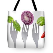 Healthy Food On White Tote Bag