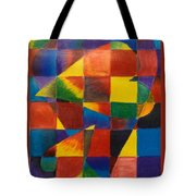 3 Hearts Squared Tote Bag