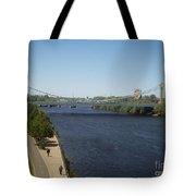 Hennepin Bridge Tote Bag