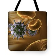 Hiv Infection Tote Bag
