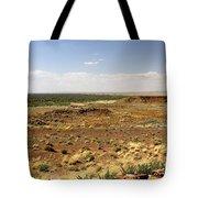 Homolovi Ruins State Park Arizona Tote Bag by Christine Till