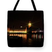 Houses Of Parliament - London Tote Bag
