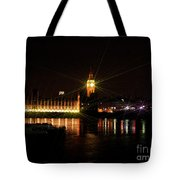 Houses Of Parliament And Big Ben Tote Bag