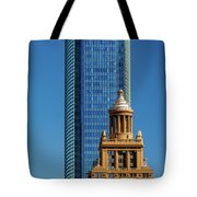 Houston, Texas - High Rise Buildings Tote Bag