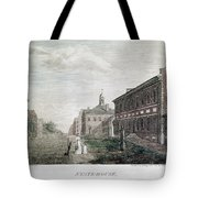 Independence Hall, 1798 Tote Bag