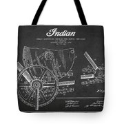 Indian Motorcycle Patent From 1902 Tote Bag by Aged Pixel