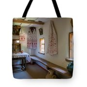 Interior Detail Of Typical Ukrainian Antique House Tote Bag