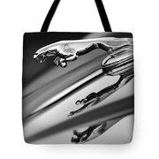 Jaguar Hood Ornament Tote Bag by Jill Reger