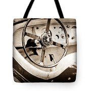 Jaguar Steering Wheel Tote Bag