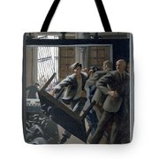 3. Jesus Drives Out The Money Changers / From The Passion Of Christ - A Gay Vision Tote Bag