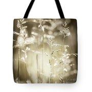 June Grass Flowering Tote Bag