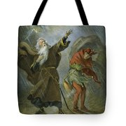 King Lear, 19th Century Tote Bag
