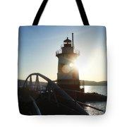 Kingsland Point Lighthouse Tote Bag