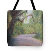 Kingsley Plantation Road Tote Bag