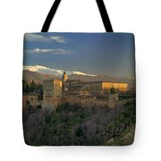 La Alhambra Granada Spain Tote Bag