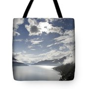 Lake With Clouds Tote Bag
