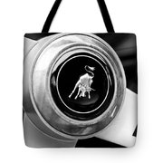 Lamborghini Steering Wheel Emblem Tote Bag