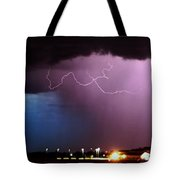 Late Evening Nebraska Thunderstorm Tote Bag