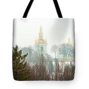 Lavra Monastery In Kiev Tote Bag