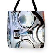 3 Lenses In Negative Tote Bag