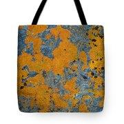 Lichened Rocks Tote Bag