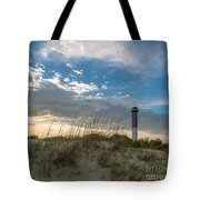 Sc Lighthouse View Tote Bag