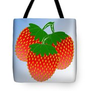 3 Little Berries Are We Tote Bag by Andee Design