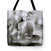 Lotus Position Tote Bag