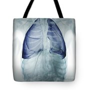 Lungs Within The Chest Tote Bag