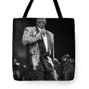 Singer Luther Vandross Tote Bag