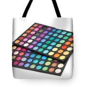 Makeup Color Palette Tote Bag