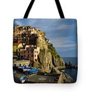 Manarola - Cinque Terre Tote Bag