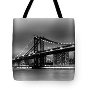Manhattan Bridge New York City Tote Bag