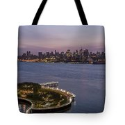 Manhattan Sunrise Tote Bag