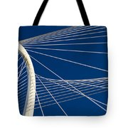 Margaret Hunt Hill Bridge Tote Bag by Elena Nosyreva