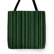 Matrix Green Tote Bag