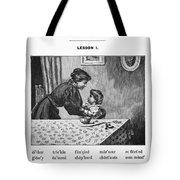 Mcguffey's Reader, 1879 Tote Bag